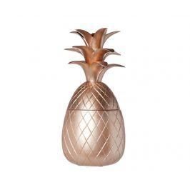 Nádoba s víkem Pineapple Copper M