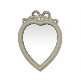 Zrcadlo Heart Antique Grey