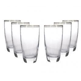 Sada 6 sklenic na vodu Inhe 390 ml