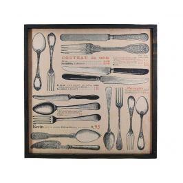 Obraz Spoons 67x67 cm