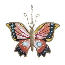Závěsná dekorace Butterfly Multi