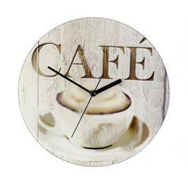 Nástěnné hodiny Cafe