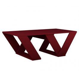 Konferenční stolek Pipra Claret Red