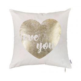 Povlak na polštář Golden Heart 45x45 cm