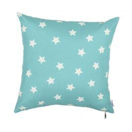 Povlak na polštář Turquoise with Stars 41x41 cm