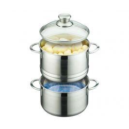 Dvojití hrnec na vaření v páře Bertilla 2.2 L