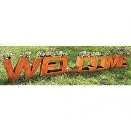 Sada 4 květináčů Welcome