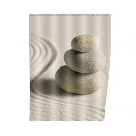 Sprchový závěs Sand and Stones 180x200 cm