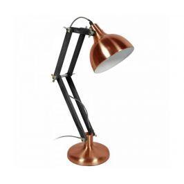 Pracovní lampa Dexter Chrome Black