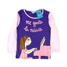 Dětské tričko s dlouhým rukávem Love for Music 4 r.