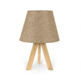 Noční lampa Katy White Beige
