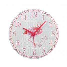 Nástěnné hodiny Flamingo