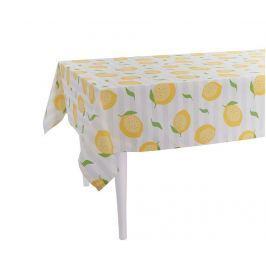 Ubrus Sweet Lemons White 140x140 cm