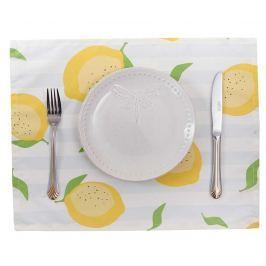 Sada 2 prostírání Sweet Lemons White 33x45 cm