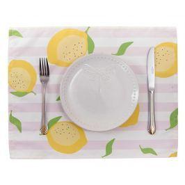 Sada 2 prostírání Sweet Lemons Pink 33x45 cm