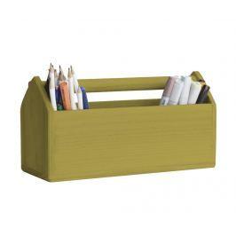 Úložná krabice Pine Mustard
