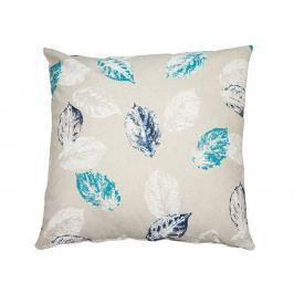 Dekorační polštář Blue Leaves 60x60 cm