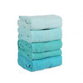 Sada 4 ručníků Green Shades 70x140 cm