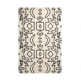 Koberec Spectrum Zion White Black 150x230 cm