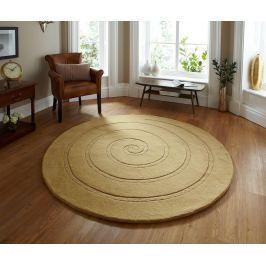 Koberec Spiral Gold 140 cm