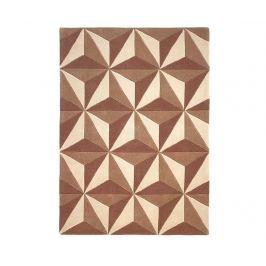 Koberec Chroma Perspective Brown Beige 120x170 cm