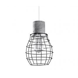 Závěsná lampa Valerio Black Grey