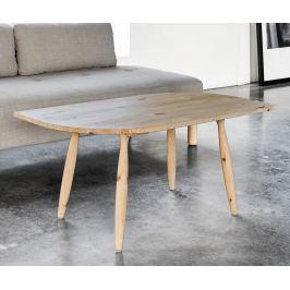 Konferenční stolek Leaf Natural Pine