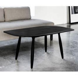 Konferenční stolek Leaf Black