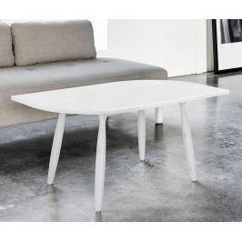 Konferenční stolek Leaf White
