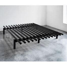 Rám postele Pace Black 140x200 cm