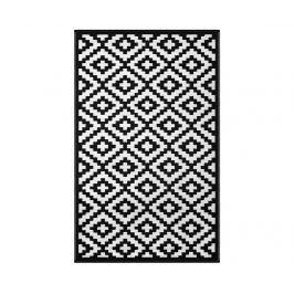 Plastový koberec Nirvana Black&White 90x150 cm