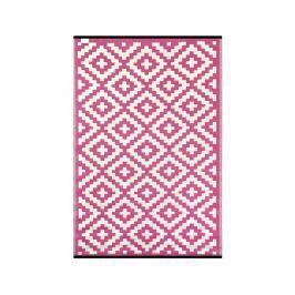 Plastový koberec Nirvana Pink 90x150 cm