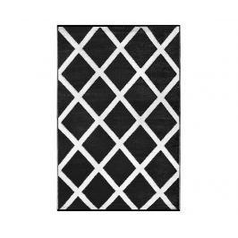 Plastový koberec Diamond Black&White 120x180 cm