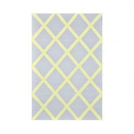 Plastový koberec Diamond Pale Grey 120x180 cm