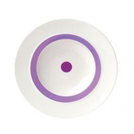 Hluboký talíř The Dot Purple