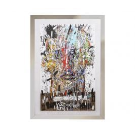 Obraz Face with Signs 82x116 cm