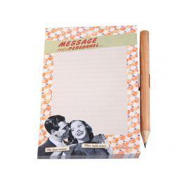 Magnetický zápisník s tužkou Couple