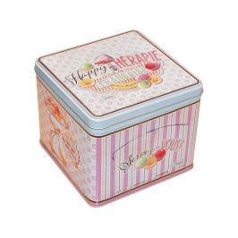 Krabice s víkem na sušenky Happy