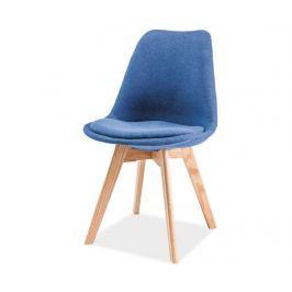 Židle Iris Beech Blue