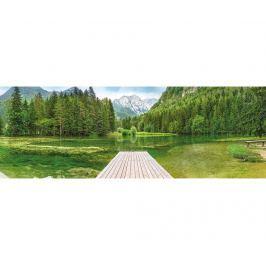 Fototapeta Green Lake 127x368 cm
