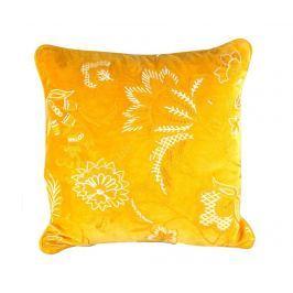 Dekorační polštář Yellow Oriental 45x45 cm