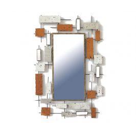 Zrcadlo Beaux Arts Silver Rectangles