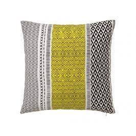 Dekorační polštář Geometric Yellow 45x45 cm