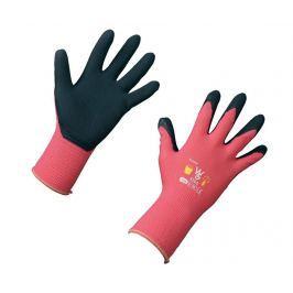 Dětské zahradní rukavice Pink Garden 8-11 r.