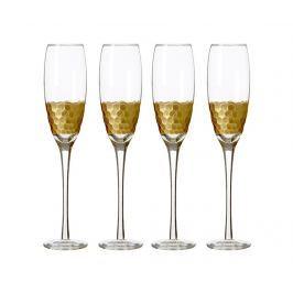 Sada 4 sklenic na šampaňské Astrid 210 ml