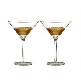 Sada 2 sklenic na koktejly Astrid 250 ml