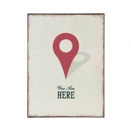 Nástěnná dekorace You are Here