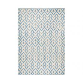 Koberec Zenia Blue and Cream 200x290 cm