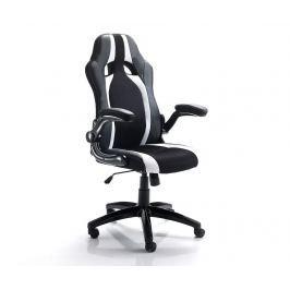 Kancelářská židle Team White Black