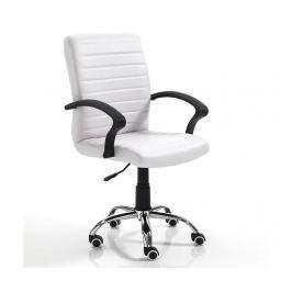 Kancelářská židle Pany High White